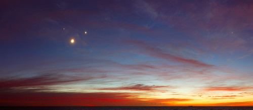 Conjunction Panorama at Dawn | by lrargerich