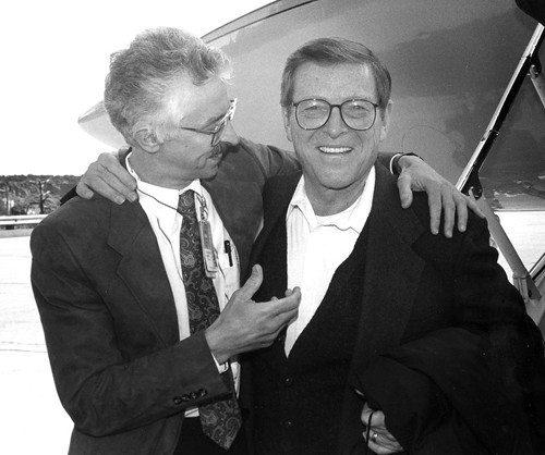 Sig Hecker and Pete Domenici