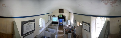 Panoramic view inside the church   by paul cripps