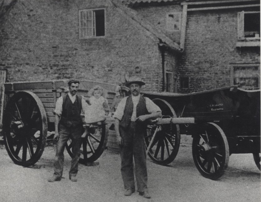 Lawson's Wagoners, East End, Walkington 1875 (archive ref PC43-72)
