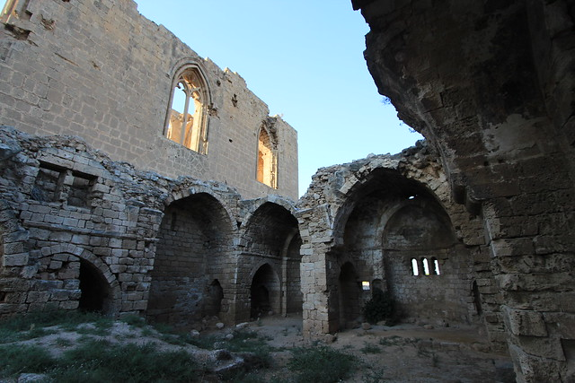 Abandoned Architecture, St. Symeon Byzantine Greek Orthodox Cathedral, Walled City, Famagusta, Turkish Republic Of North Cyprus.
