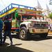 Bus Escalera en Hispania, Antioquia