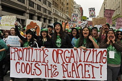 cools the planet banner [Climate Justice (under Issues)]