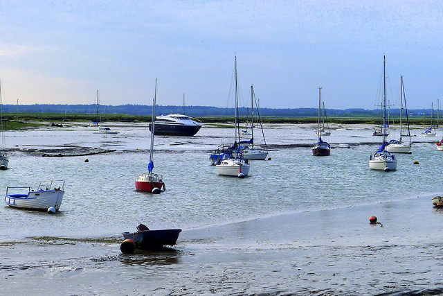 Mersea boats