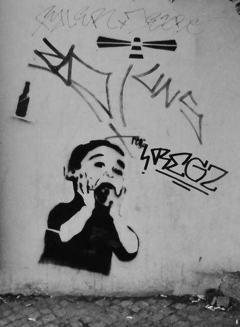 Praga - graffiti