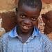 Portrait of boy in Uganda