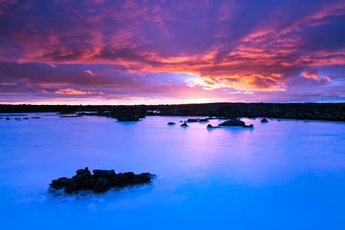 travel blue cloud holiday color nature water sunrise landscape island iceland scenery urlaub lagoon hitech reykjanes bluelagoon 2012 ° gnd k5imgp1538