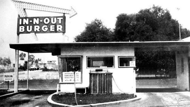 1ST IN N OUT - This is the original IN N OUT on Francisquito, Baldwin Park - I remember everything in this picture.... everything!