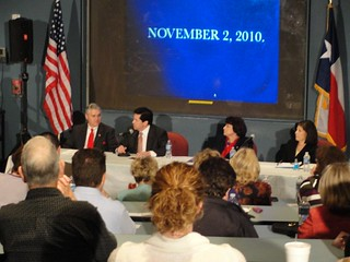 Hubert, Curling at all at the State Rep candidate debate | by kwtp2012