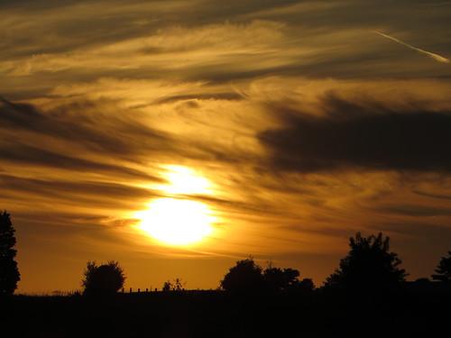 blue sunset shadow sky sun sunny pizza rays blueskies