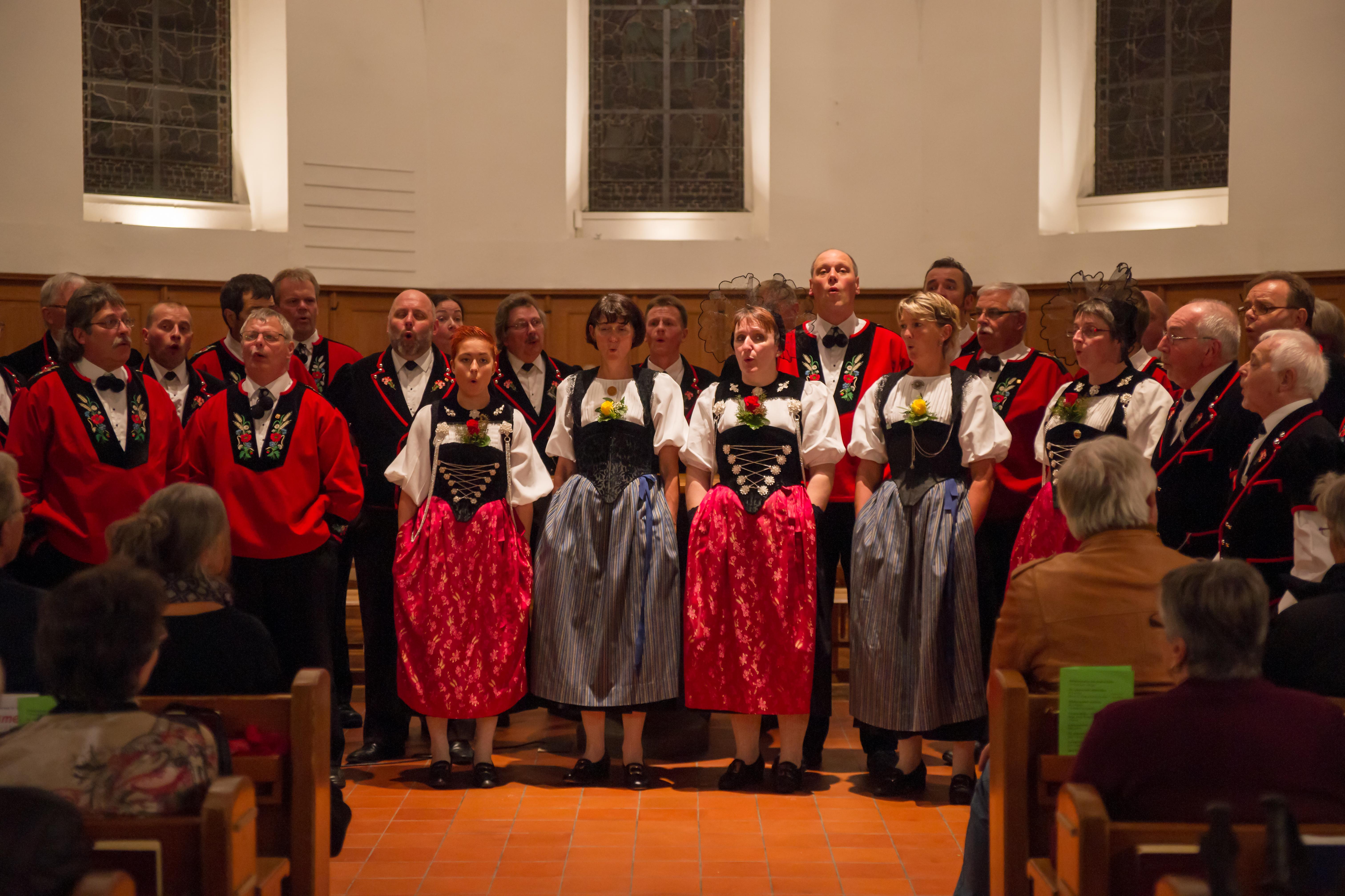 Volkstümliches Kirchenkonzert 2013