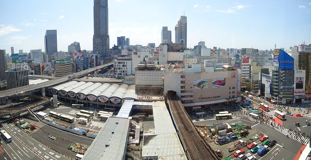 Shibuya Station East Side