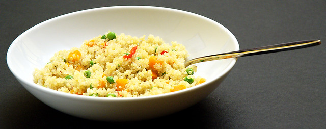 Quinoa alle verdure con dadolata di tofu - DSC_1929
