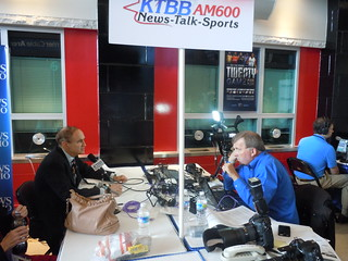 Robert Weiner on live with Paul Gleiser (KTBB AM 600 News Talk Sports)