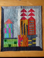 BQS3 Mini Quilt from HillyFilly
