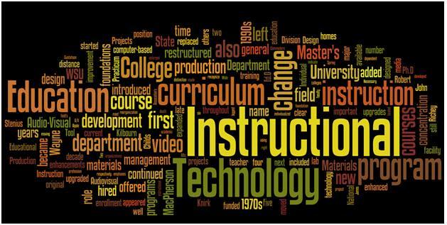 Instructional Technology History at Wayne State University