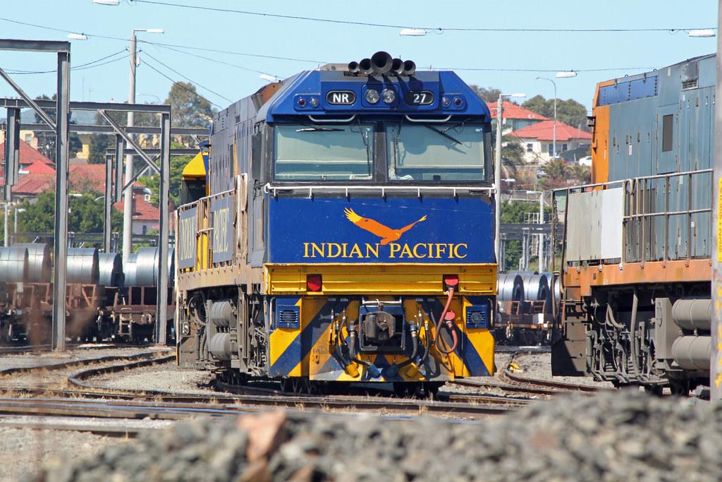 NR27 Port Kembla yard by Thomas