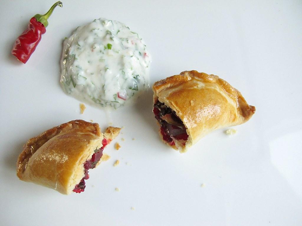 beet empanadas