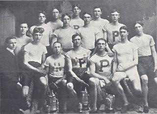 Members of 1901 track team