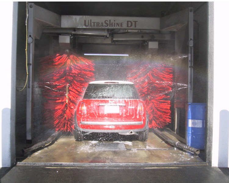 Ryko Ultrashine Drivethrough (USDT) | in action!! | Car Wash Studios