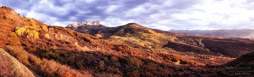 autumn fall colors colorado aspens sanjuanmountains ridgeway chimneyrock vistaridge owlcreekpass ©2012kristalkraft