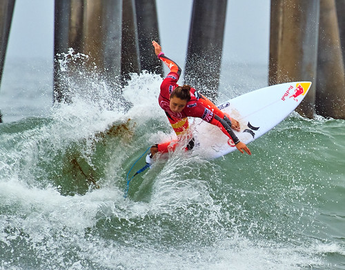 Surfer, Huntington Beach, California