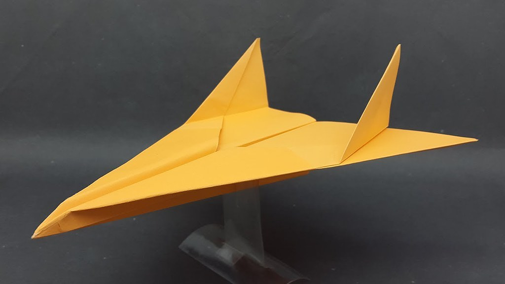 Best Origami Paper Jet Plane - Easy Paper Fighter Jet Airp… Flickr