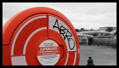 Torquay Seafront - Promenade Graffiti (46)