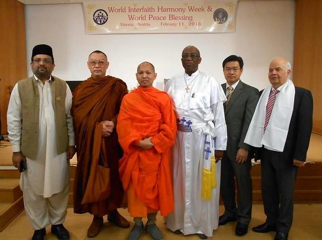 Austria-2018-02-11-World Interfaith Harmony Week Observed in Vienna, Austria