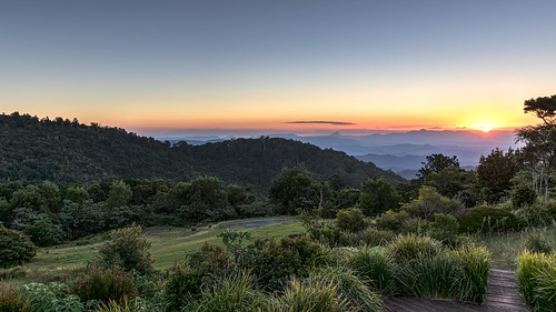 landscape hdr sunset mountains valleys rainforest sundown resort oreillysretreat