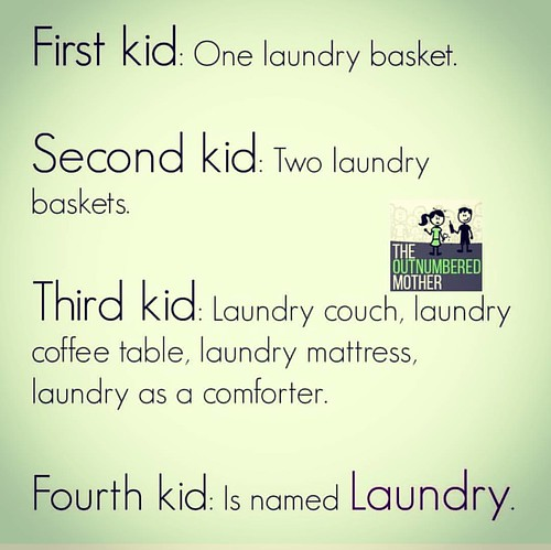 In all honesty, we did have a laundry chair in my bedroom after my 3rd son !  If only someone advised me to stop being bothered about the washed laundry and play some more with my precious gifts !!  I remember being on a virtual race with my washing machi | by Dubai Crafter