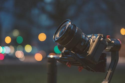 Feiyutech A2000 + Fujifilm X-H1