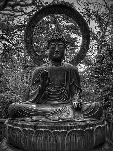 Buddha - Japanese Tea Garden - Golden Gate Park - San Francisco, CA | by vwcampin