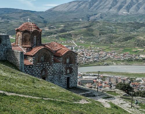 albania berat byzantine church citadel ll holytrinitychurch
