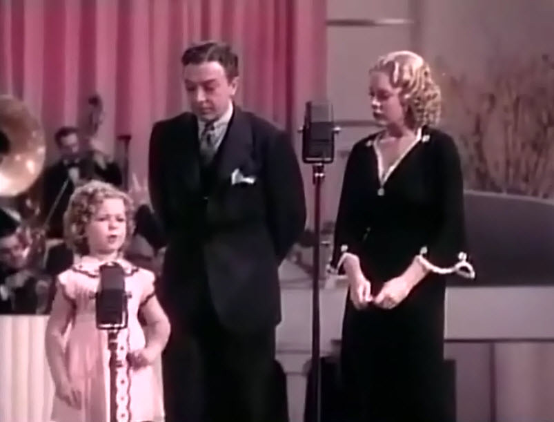 Jack Haley and shirley temple