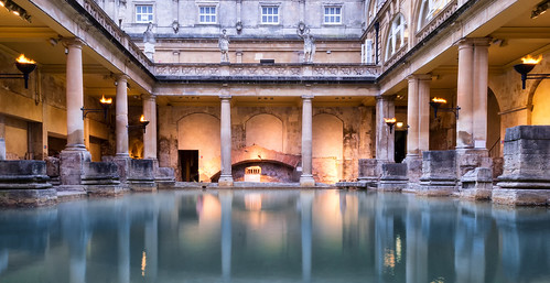 The Roman Baths, Bath, England