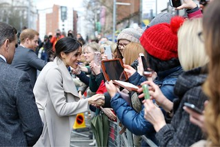 Prince Harry and Ms. Markle visit Belfast's Crown Liquor Saloon | by Northern Ireland Office