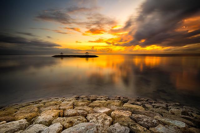 Sunrise @sanur beach