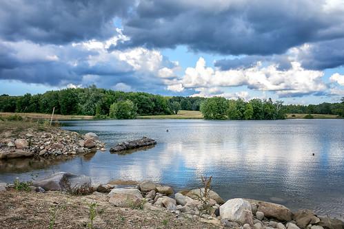lake corning arboretum kirtland ohio landscape water outdoor shoreline summer