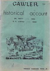 Gawler Historical Account