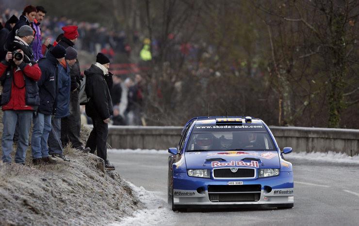 Skoda Fabia WRC – Montecarlo 2006