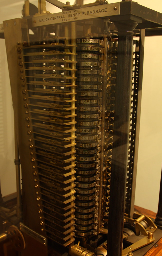 difference engine number  charles babbages difference en flickr