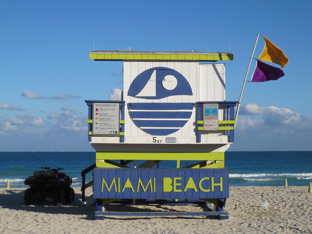 Miami Beach Lifeguard Stand | 5th Street Beach in South Beac… | Flickr