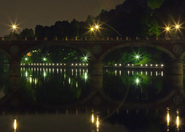 Ponte Isabella Torino by Night