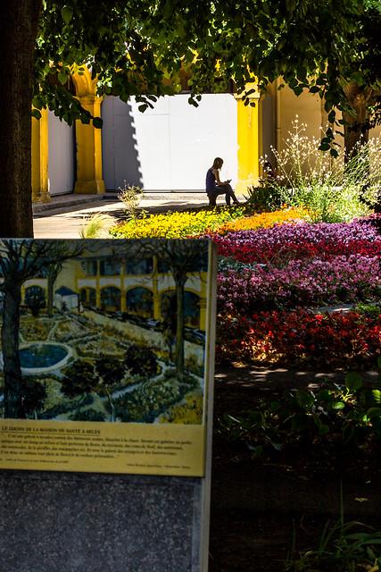 Le jardin de l'hôpital d'Arle