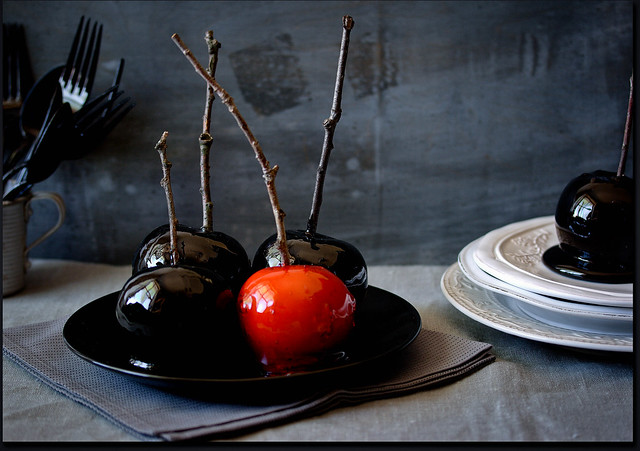 Scary Candy Apples (Halloween)