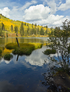 Early Fall on Silver Lake | by DeanAndrew.com