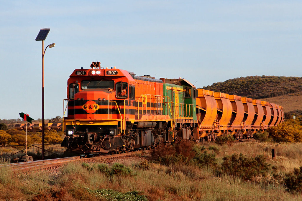 1907 CK3 KW53 Loaded Arrium Iron Knight Ore 124km Iron Baron Junction 27 09 2012 by Daven Walters