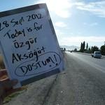Today is for Ozgur Aksogut