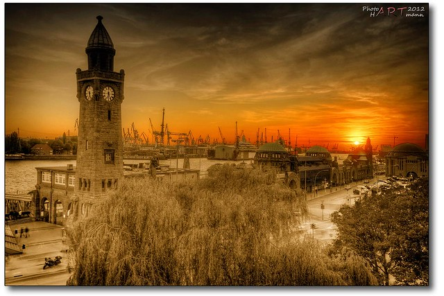 Landungsbrücken sunset III